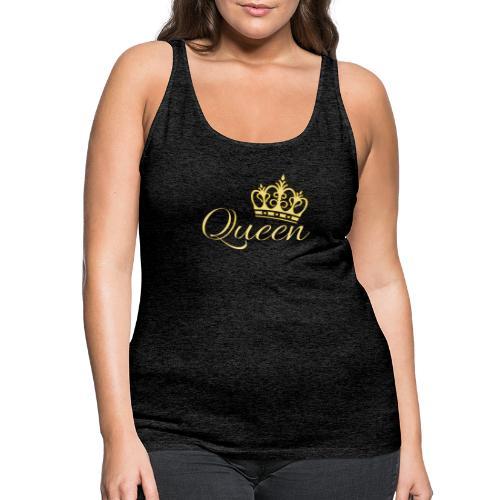 Queen Or -by- T-shirt chic et choc - Débardeur Premium Femme