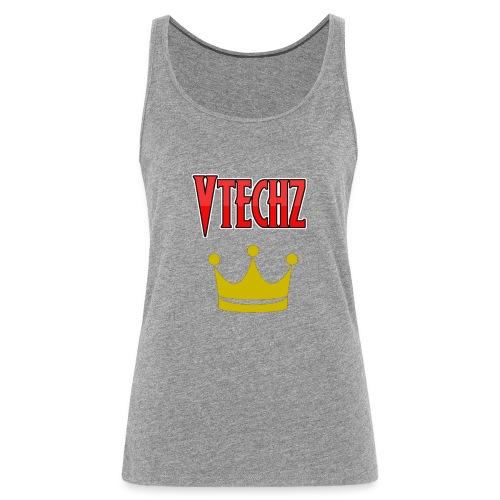 Vtechz King - Women's Premium Tank Top