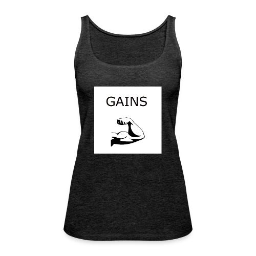 Gains2 - Frauen Premium Tank Top