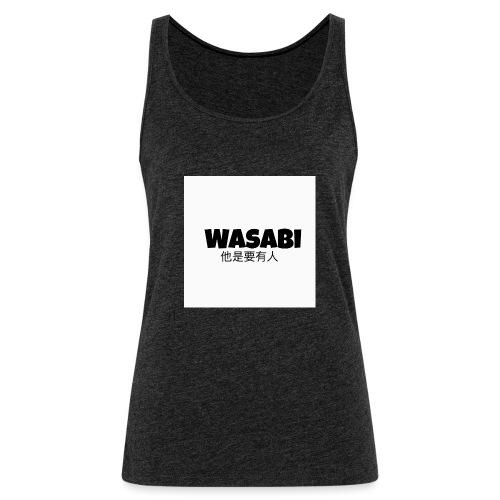 Wasabi tees n hoodies - Women's Premium Tank Top