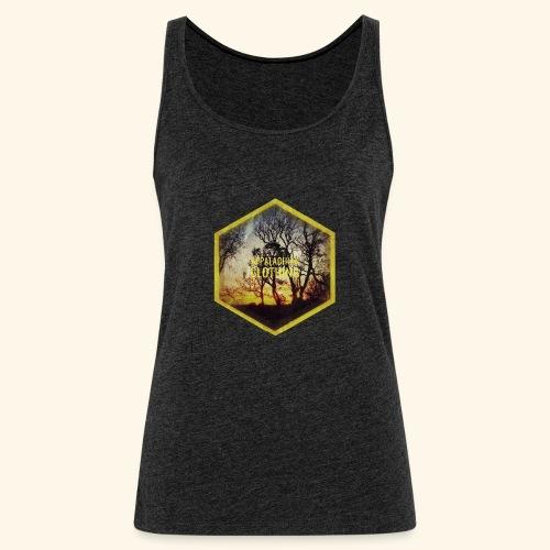 Sunset Treeline - Women's Premium Tank Top
