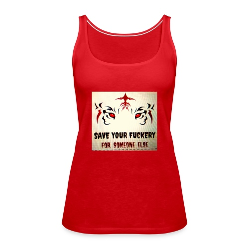 NO TIME FOR BS - Vrouwen Premium tank top