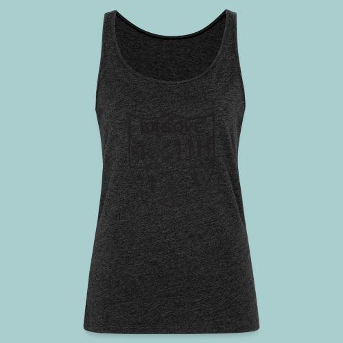 ropa adultos premiumdiseño Basque (negro) - Camiseta de tirantes premium mujer