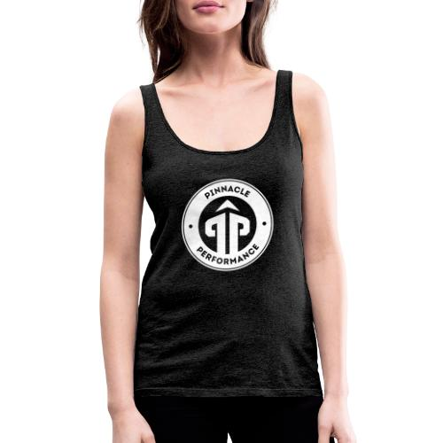 Pinnacle Performance Apparel (White Logo) - Women's Premium Tank Top