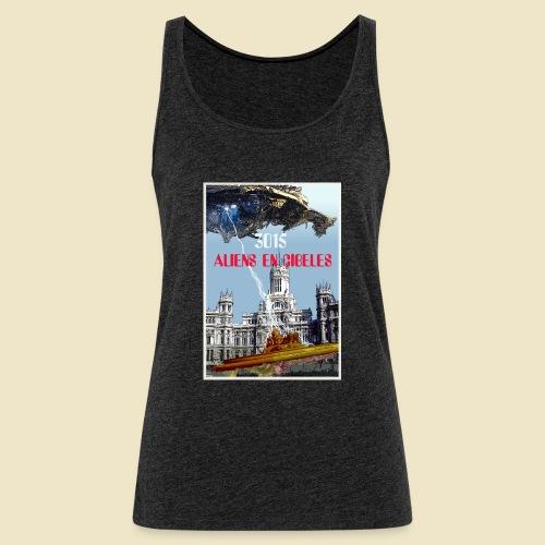 PLAZA DE CIBELES - Camiseta de tirantes premium mujer
