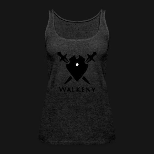Walkeny Schwert Logo! - Frauen Premium Tank Top