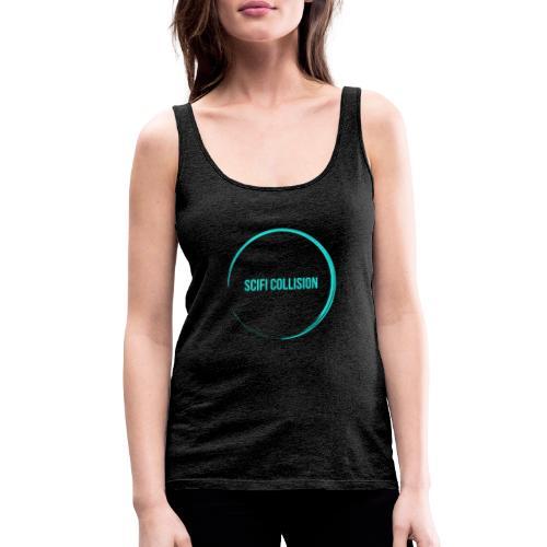 Sea Blue Logo - Women's Premium Tank Top