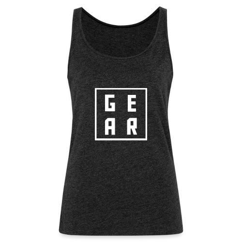GearWear Sweatshirt | Man Black - Vrouwen Premium tank top