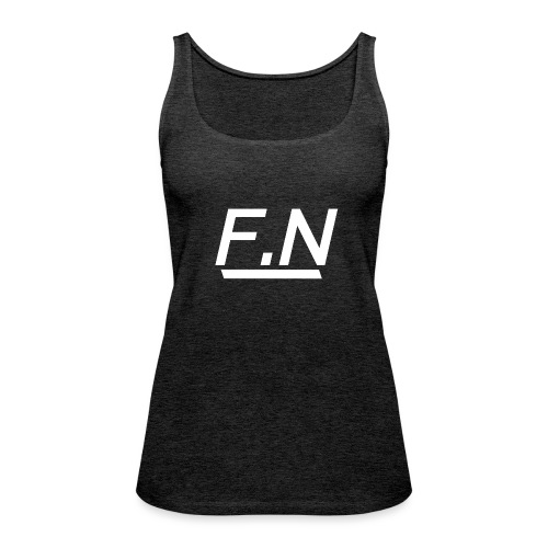 F.N Logo (Zwart-Shirt) Mannen - Vrouwen Premium tank top