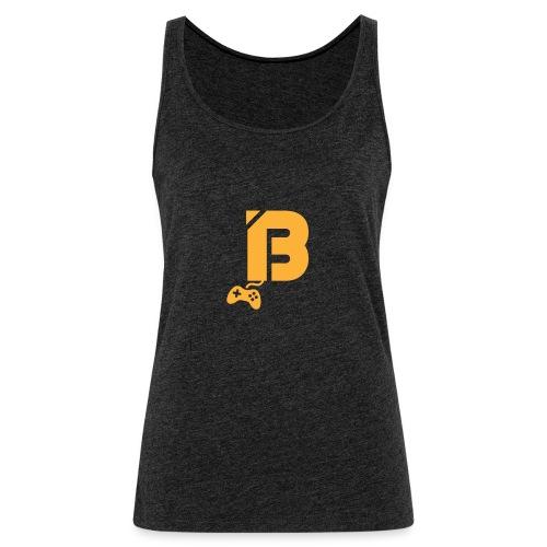 BOOYAH T-Shirt Oranje Logo - Vrouwen Premium tank top