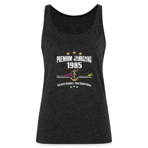 1985 Born in the 80's - Frauen Premium Tank Top