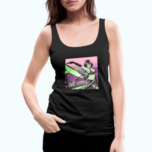 Dream drawing - Women's Premium Tank Top
