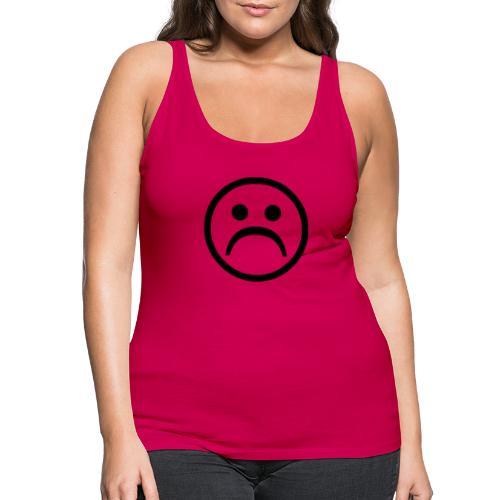 carita triste - Camiseta de tirantes premium mujer