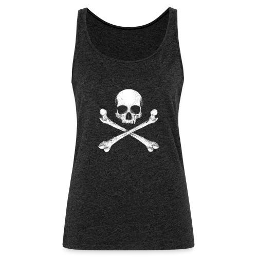 Jolly Roger - Pirate Skull Flag - Women's Premium Tank Top