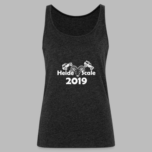 HeideScale 2019 weisser Aufdruck - Frauen Premium Tank Top