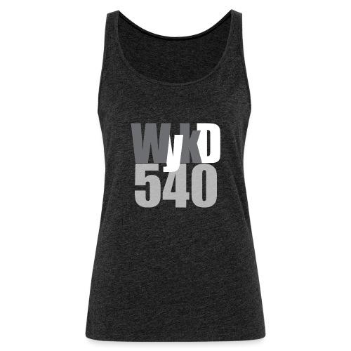 WykD 540 Grey - Women's Premium Tank Top