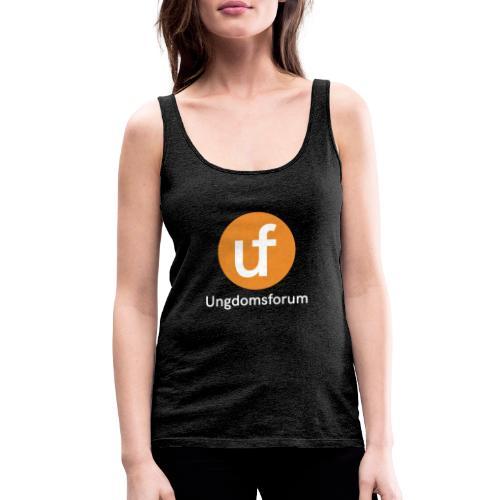 UF logo - Premium singlet for kvinner