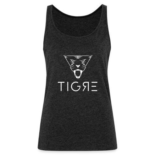 Classic TIGRE Square Logo - Women's Premium Tank Top