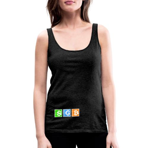 Generación Bitcoin - Camiseta de tirantes premium mujer