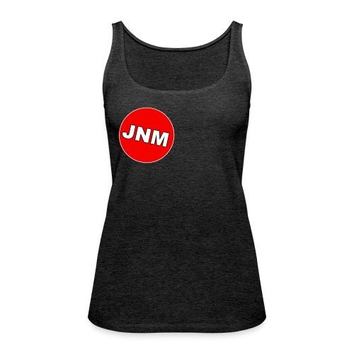 JustNotMe logo design - Vrouwen Premium tank top