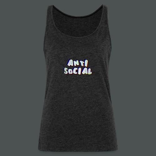 Anti social - Women's Premium Tank Top