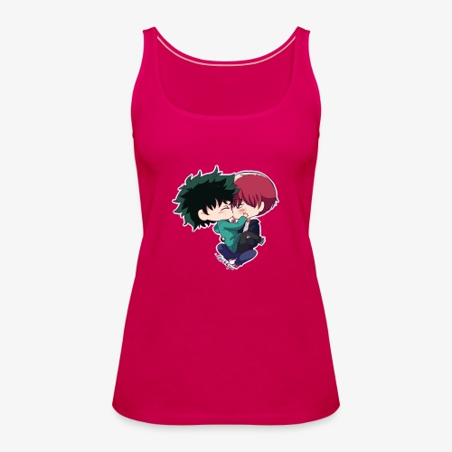 tododeku by dark cruel place - Women's Premium Tank Top
