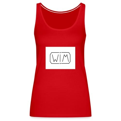 normal WIM design - Vrouwen Premium tank top