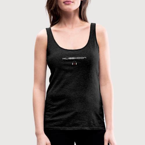 Klissmoon Logo white - Women's Premium Tank Top