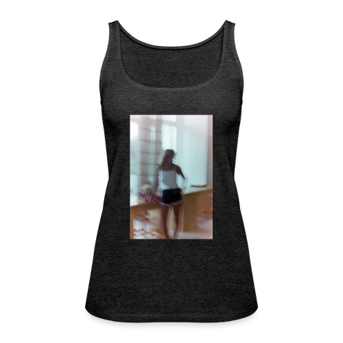 Mädchen in Shorts - blurred vintage photography - Frauen Premium Tank Top