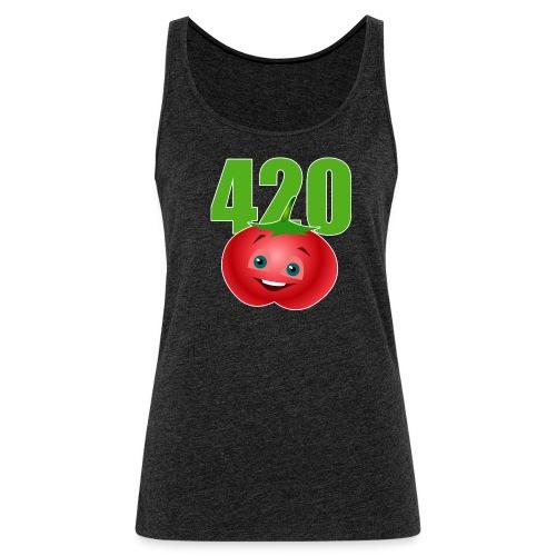 Tomate 420 - Frauen Premium Tank Top