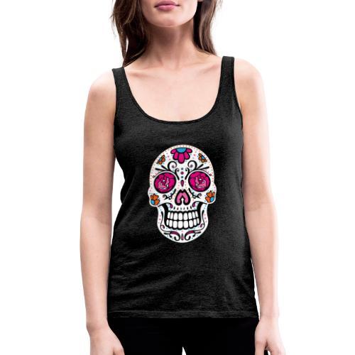 Sugar Skull Day Of The Dead Totenschädel - Frauen Premium Tank Top