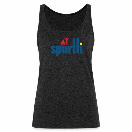 Spurtti Logo - Naisten premium hihaton toppi