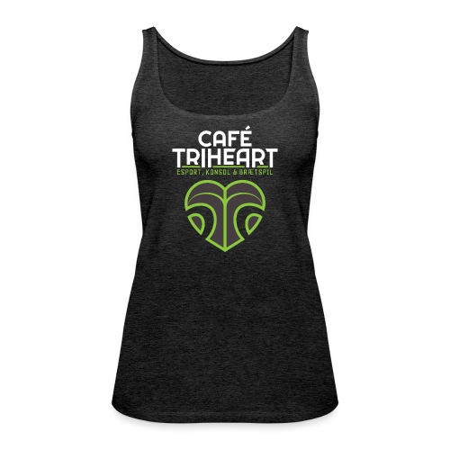 Triheart Logo - Dame Premium tanktop