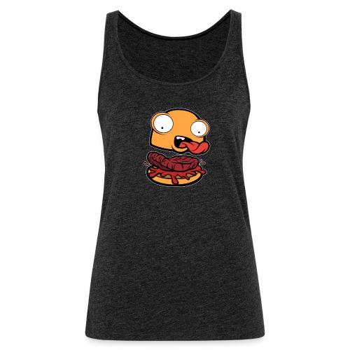Crazy Burger - Camiseta de tirantes premium mujer