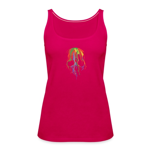 Skull and Colours - Camiseta de tirantes premium mujer