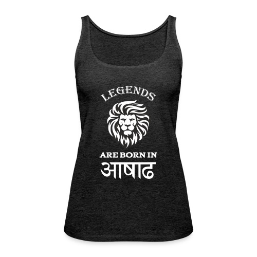 Asar, the third month of Nepali Calender - Women's Premium Tank Top
