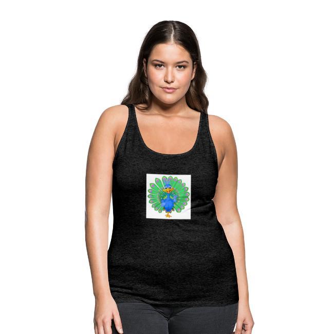 Pfau T-Shirts ,Blusen und mehr
