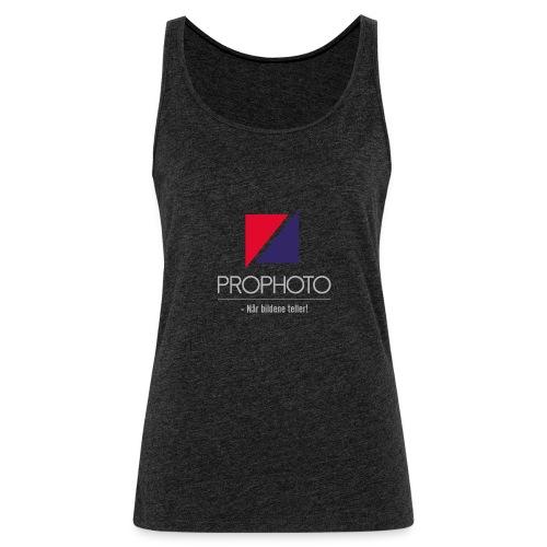 logo trykk pro - Premium singlet for kvinner