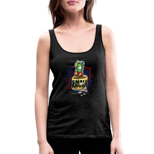 small but angry - Frauen Premium Tank Top
