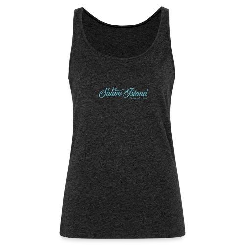 Salam Island calli bleu - Débardeur Premium Femme