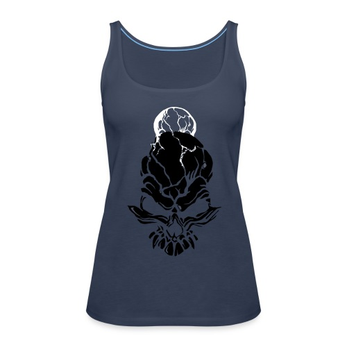 F noize fronte png - Women's Premium Tank Top