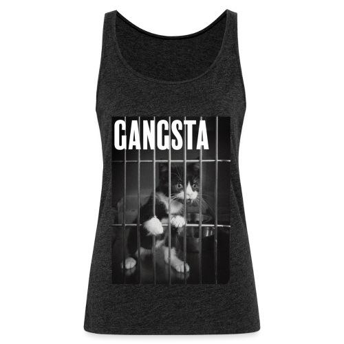 Gangsta cat - Débardeur Premium Femme