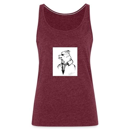 InkedThe Dog style bak LI - Camiseta de tirantes premium mujer