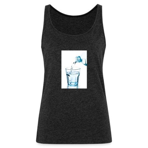 Glas-water-jpg - Vrouwen Premium tank top