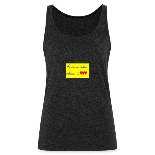 Pensamientos-png - Camiseta de tirantes premium mujer