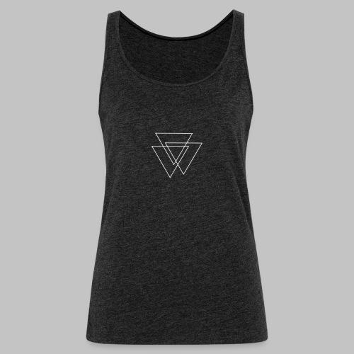 triangles Valknut - Women's Premium Tank Top