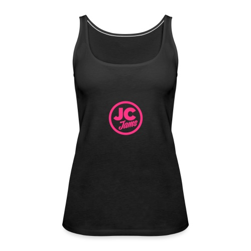 JC Jams logo USR - Women's Premium Tank Top