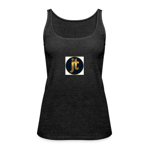 Golden jt logo - Women's Premium Tank Top