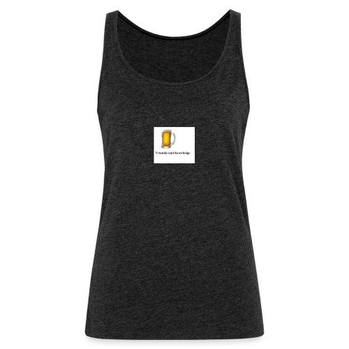 vitamin - Women's Premium Tank Top