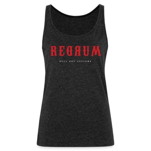 REDRUM - Premium singlet for kvinner